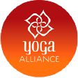 Logotipo yoga Alliance - Formación de Yoga en español en India y Nepal  | rishikulyogshalainspanish